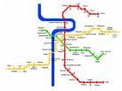 Plan of Prague metro